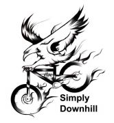 The Simply Downhill Logo
